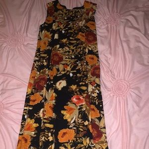 Urban Rose Midi Dress Size Large